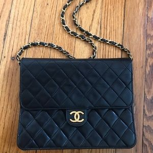 Authentic CHANEL Quilted Lambskin bag